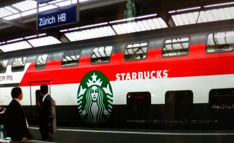 SBB IC Starbucks coach