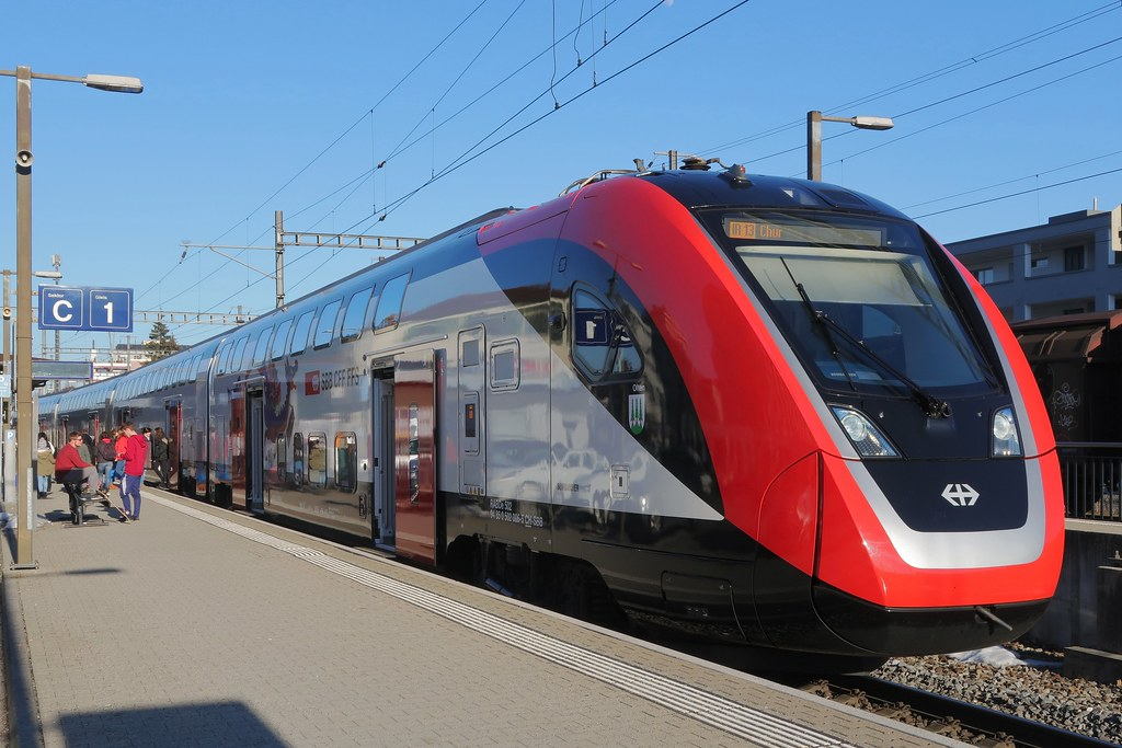 SBB IC double decker
