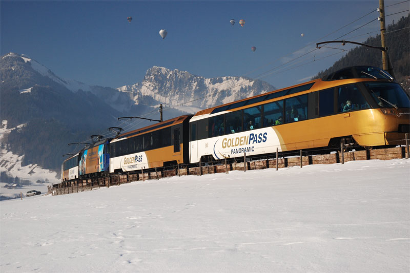 SBB Golden Pass Winter