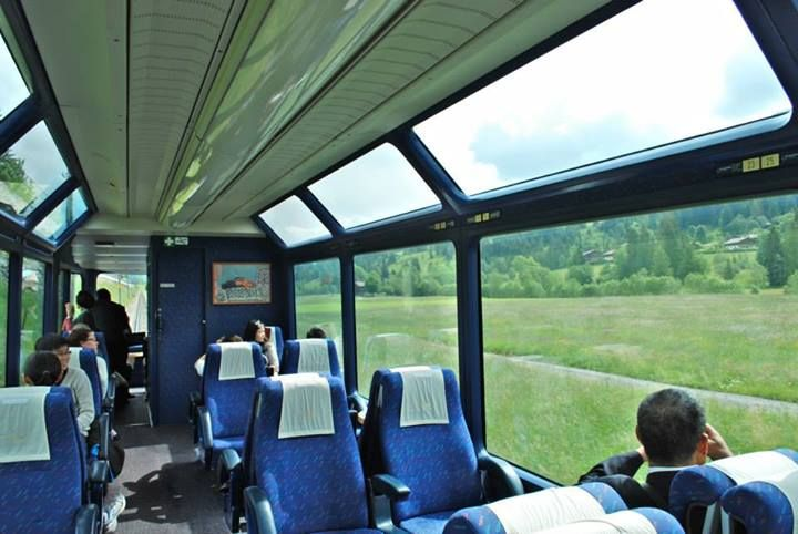 SBB Golden Pass Panaroma