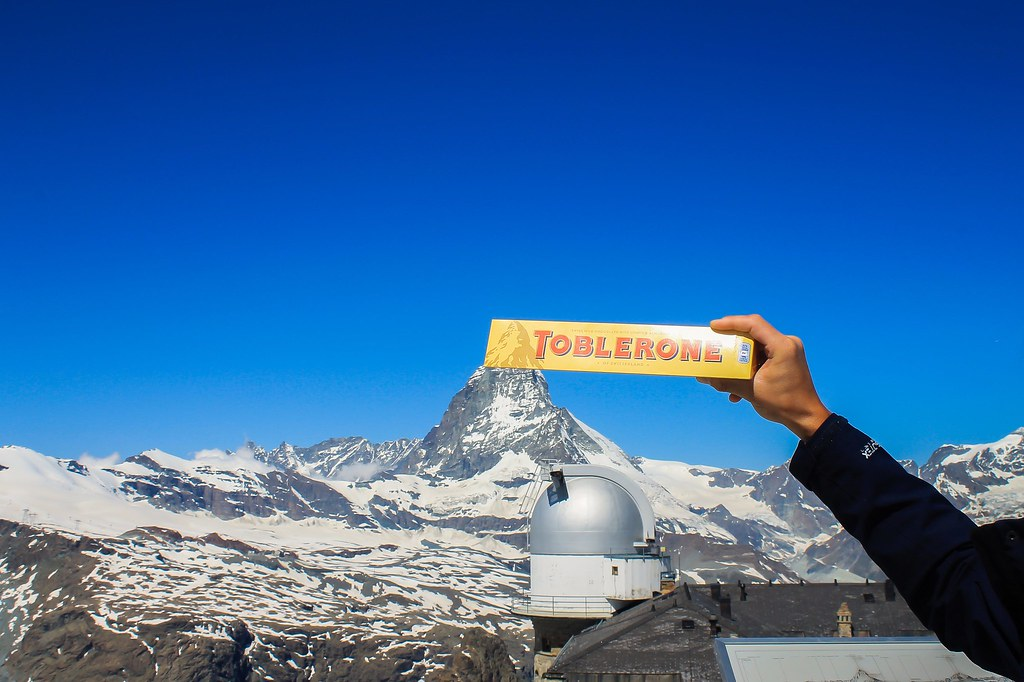 Gornergrat Cog Rail and Toblerone